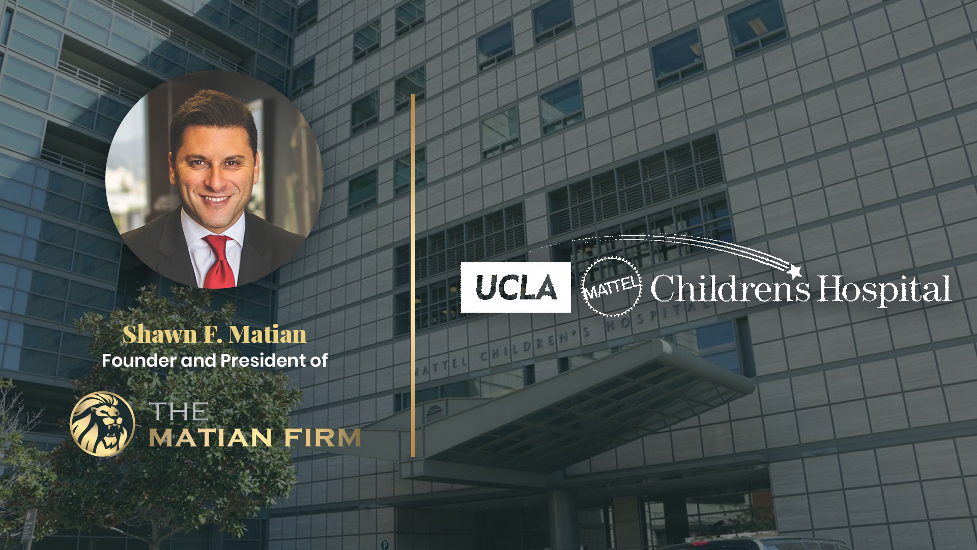 The Matian Firm donates to children hospital