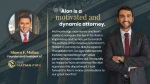 appointment of Attorney Alon Aliav